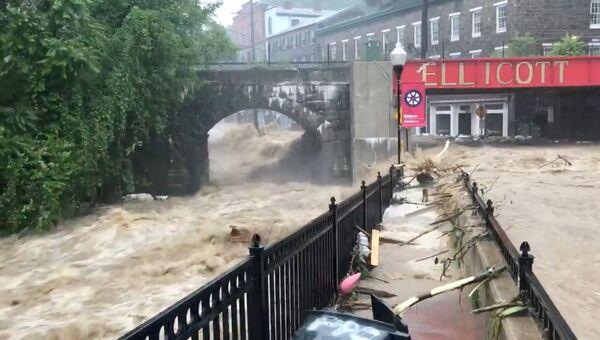 Наводнение в городе Элликотт штата Мэриленд, США. 27 мая 2018
