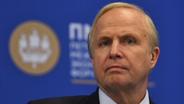 Главный исполнительный директор BP Роберт Дадли на Петербургском международном экономическом форуме
