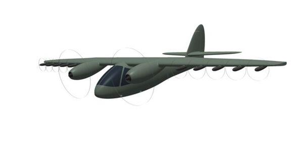 Проект самолета со сверхкоротким взлетом и посадкой, разработанный ФПИ и компанией ПромСервис