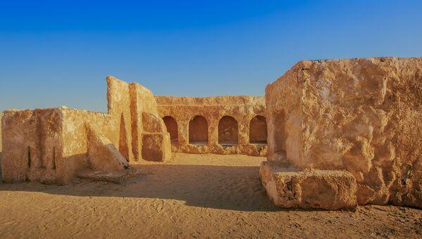 Декорации к фильму Звездные войны в Тунисе