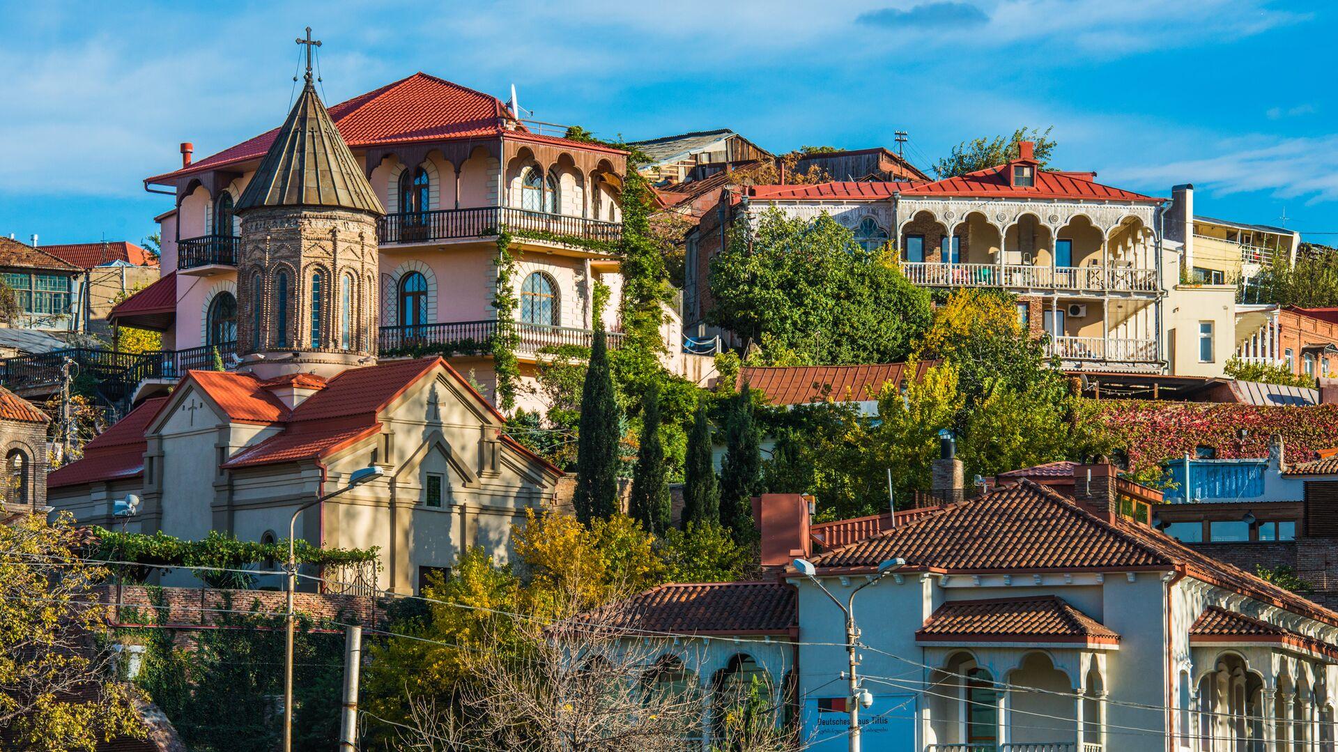Город Тбилиси, Грузия - РИА Новости, 1920, 02.03.2021