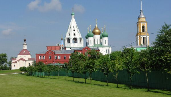 Успенский Кафедральный собор на Cоборной площади Коломенского кремля. Архивное фото