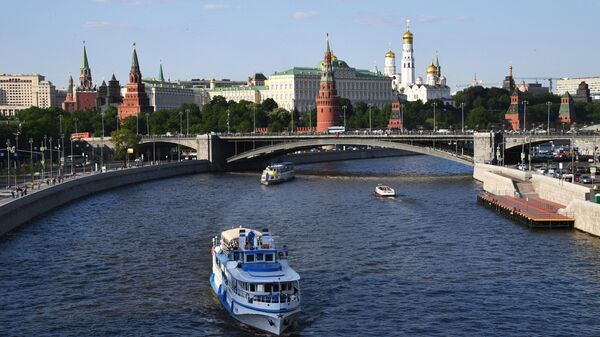Туристические теплоходы на Москве-реке