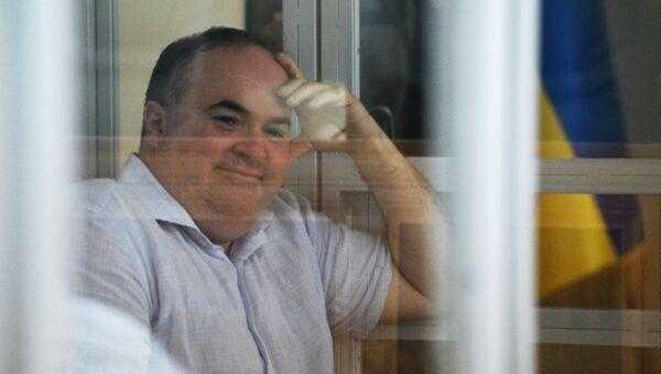 Директор украинского предприятия по производству оружия Борис Герман, обвиняемый в организации покушения на журналиста Аркадия Бабченко в Киеве, на судебном заседании. Архивное фото