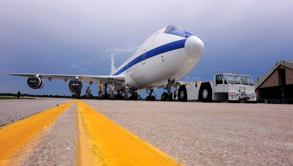 Американский самолет судного дня Boeing E-4B. Архивное фото