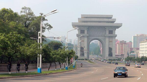 Триумфальные ворота в Пхеньяне