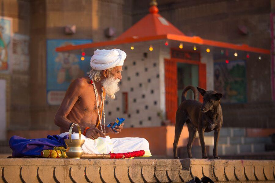 Индия, Варанаси, Дашашвамед гатт