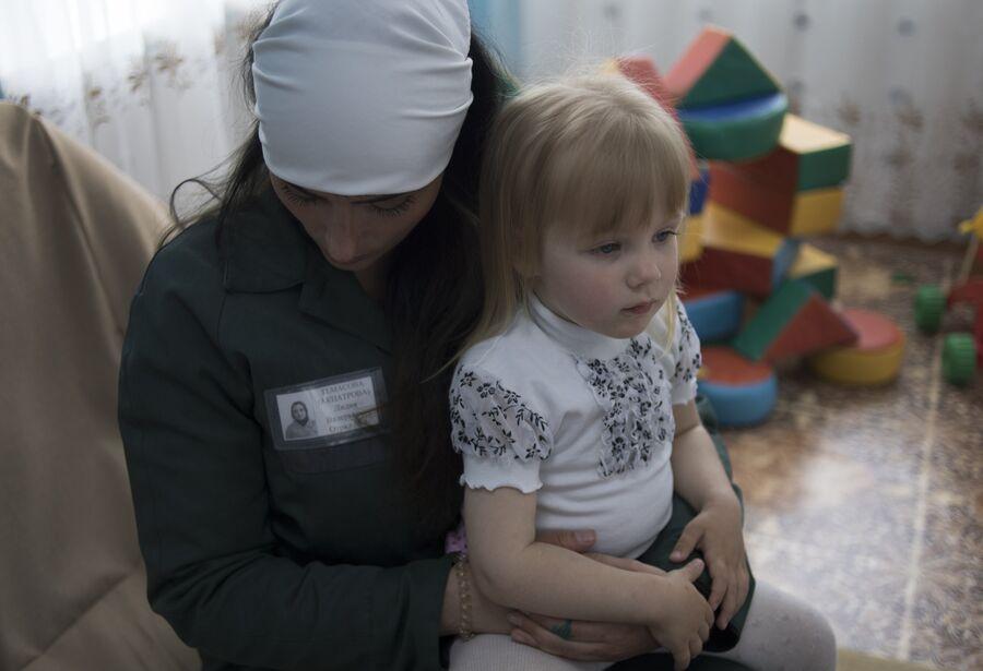 Лилия Темасова с дочкой