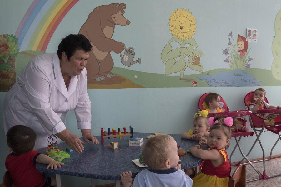 Дети, которые живут в центре совместного проживания осужденных с детьми в ИК №1 во Владимирской области