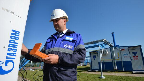 Газораспределительная станция компании Газпром