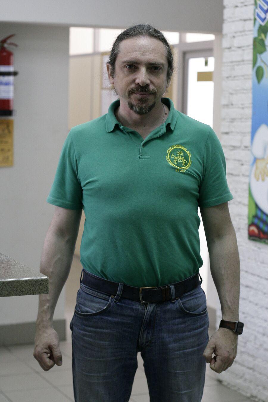 Руководитель центра реабилитации инвалидов Наш солнечный мир Игорь Шпицберг