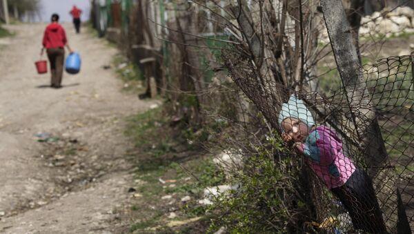 Молдавский мальчик в селе Будэй