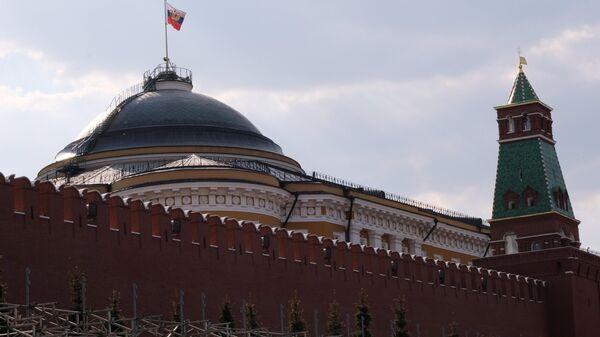Купол Сената и Сенатская башня Московского Кремля