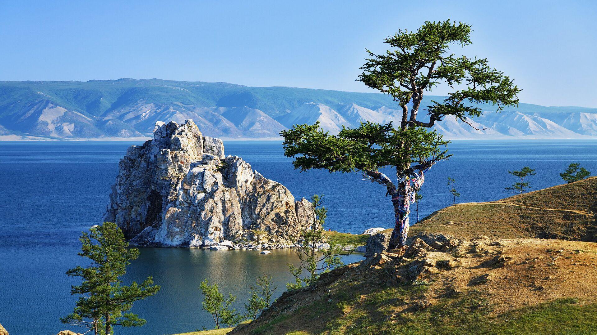 Дерево желаний на озере Байкал - РИА Новости, 1920, 26.08.2020