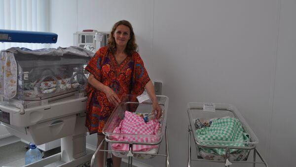 Жительница Владивостока родила тройню в 51 год