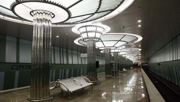 Станция метро Стрелка в Нижнем Новгороде. Архивное фото