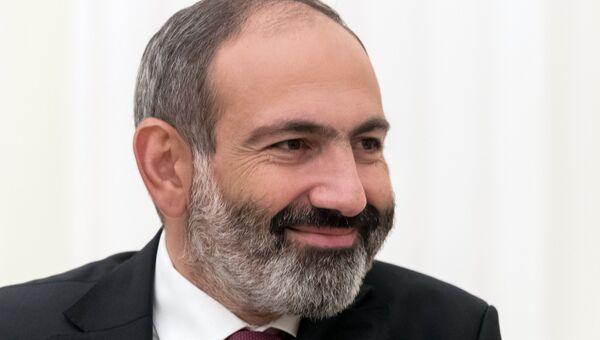 Исполняющий обязанности премьер-министра Армении Никол Пашинян. Архивное фото