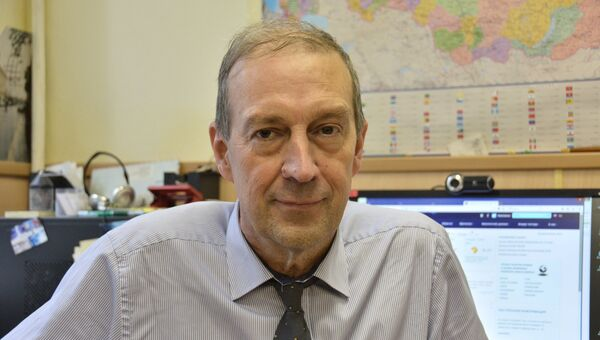 Исполняющий обязанности директора Гидрометцентра России Дмитрий Киктев