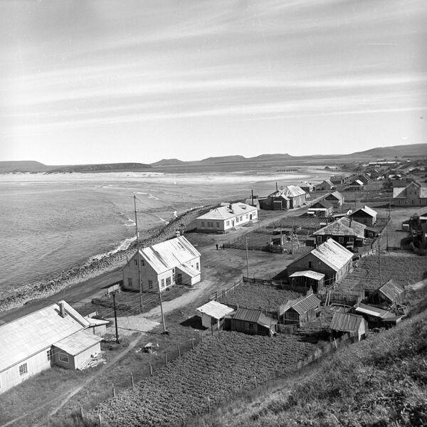 Село Никольское на Командорских островах в Камчатской области