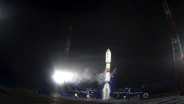 ВКС силы провели успешный пуск ракеты Союз-2.1Б с российским навигационным космическим аппаратом Глонасс-М. Архивное фото