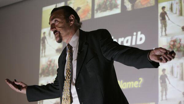 Профессор психологии Стэнфордского университета Филипп Зимбардо в кампусе Стэнфордского университета в Пало-Альто, Калифорния. 7 марта 2007 года