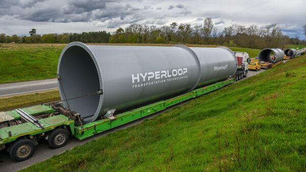 Труба Hyperloop Transportation Technologies