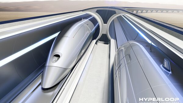 Система Hyperloop Transportation Technologies