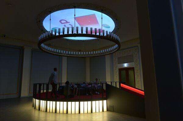 Открытие выставки Между небом и землей на ВДНХ