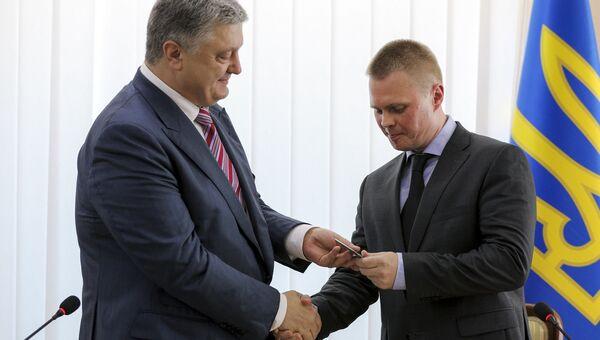 Петр Порошенко и Александр Куць