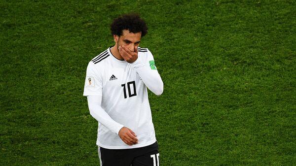 Полузащитник сборной Египта Мохаммед Салах