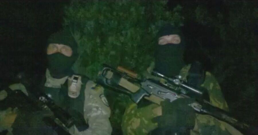 Подготовка к штурму Марьинки, 2014 год. Снайпера батальона Азов