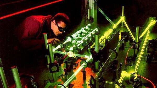 Лазерный эксперимент