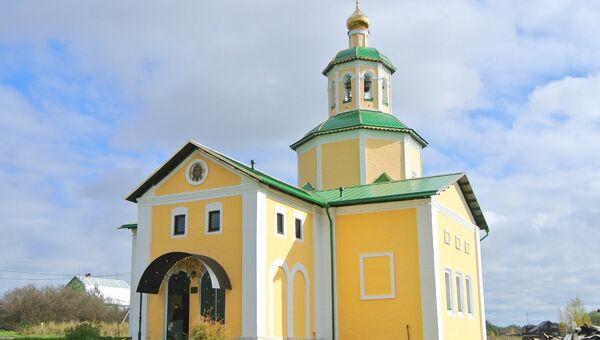 Троицкая церковь в поселении Роговское Троицкого административного округа