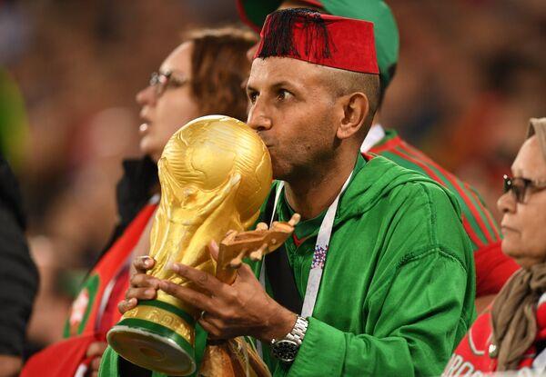 Болельщик сборной Марокко