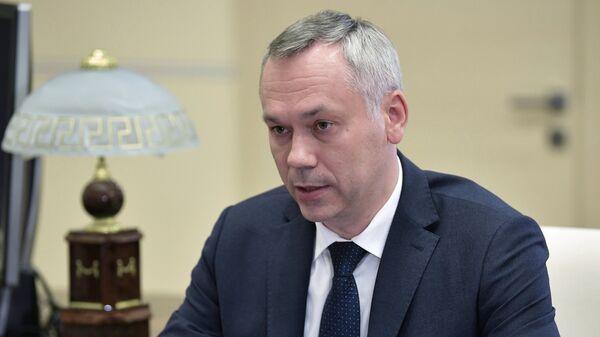 Назван годовой заработок новосибирского губернатора