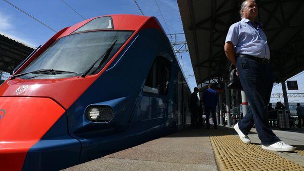 Станция Солнечная Киевского направления Московской железной дороги