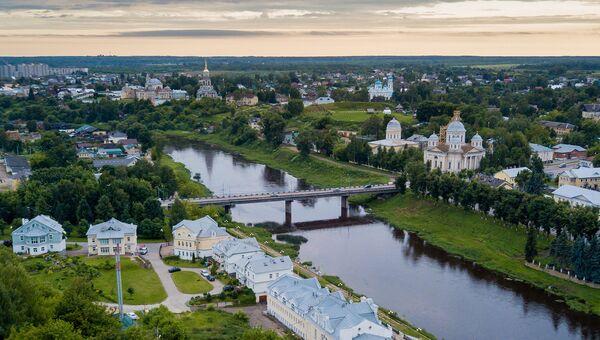 Город Торжок. Архивное фото