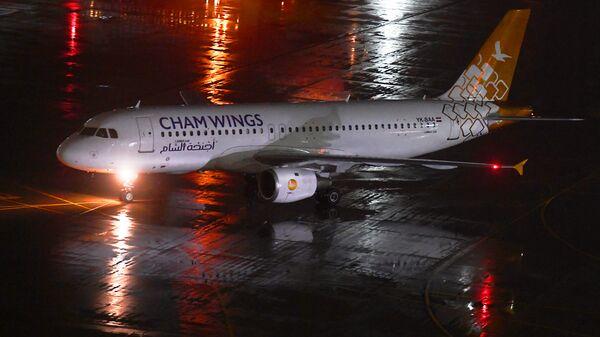 Самолёт сирийской компании Cham Wings Airlines