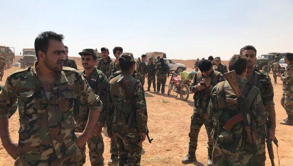 Сирийские войска вышли к границе с Иорданией в провинции Дераа. Архивное фото