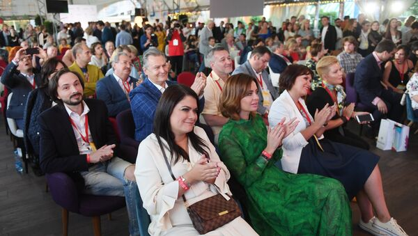 Участники церемонии награждения премии Медиа-Менеджер России-2018