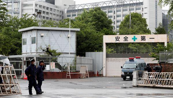 Токийский центра заключения, где был казнен Сёко Асахара. 6 июля 2018