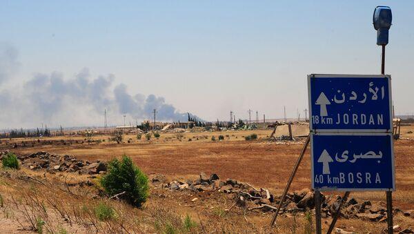 Ситуация в сирийской провинции Дараа. Июль 2018