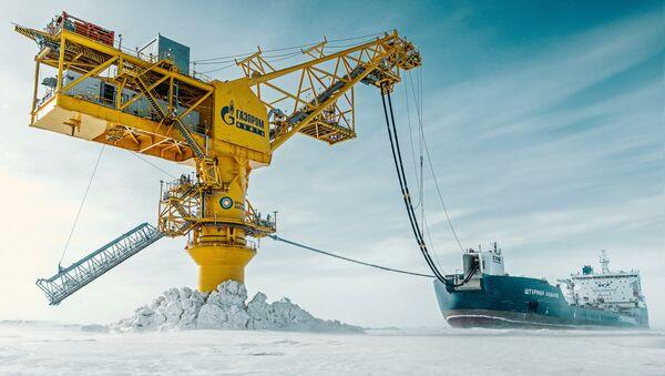 Терминал Ворота Арктики в Обской губе