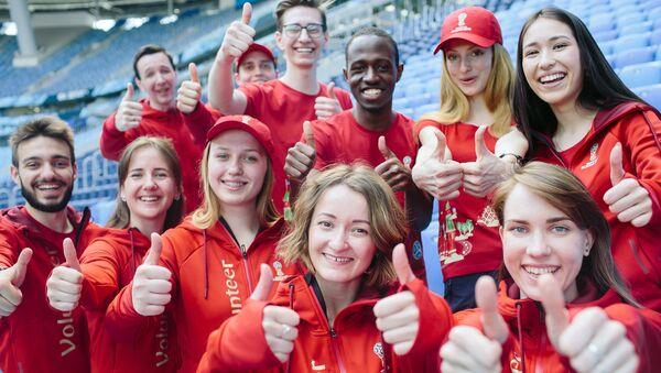 Волонтеры ЧМ-2018 в Санкт-Петербурге подводят итоги