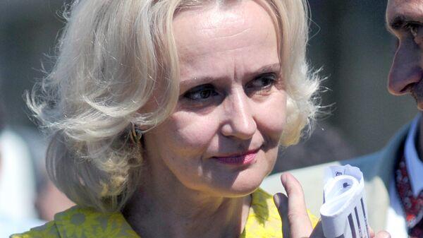 Украинский политический и общественный деятель, член Всеукраинского объединения Свобода Ирина Фарион