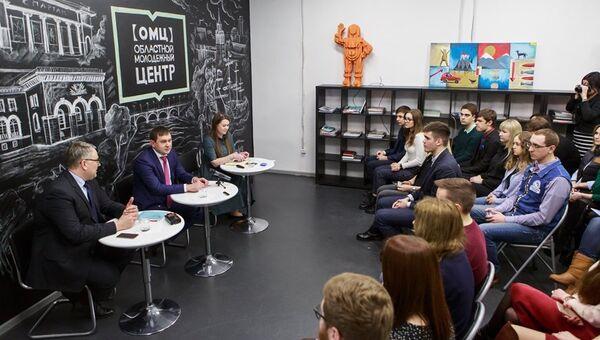 Встреча Владимира Нетесова с волонтерами