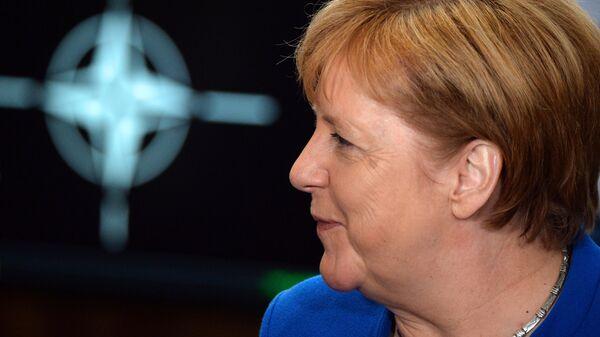 Канцлер Германии Ангела Меркель на саммите НАТО в Брюсселе. 11 июля 2018