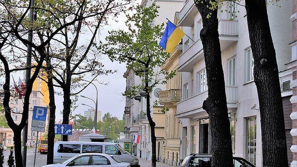 Посольство Украины в Польше. Архивное фото