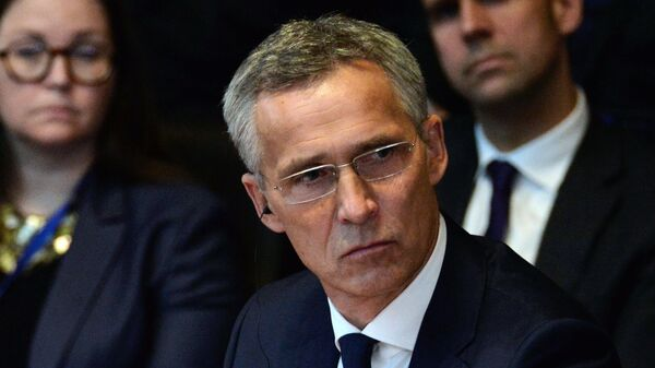 Генеральный секретарь НАТО Йенс Столтенберг на саммите НАТО в Брюсселе. 11 июля 2018