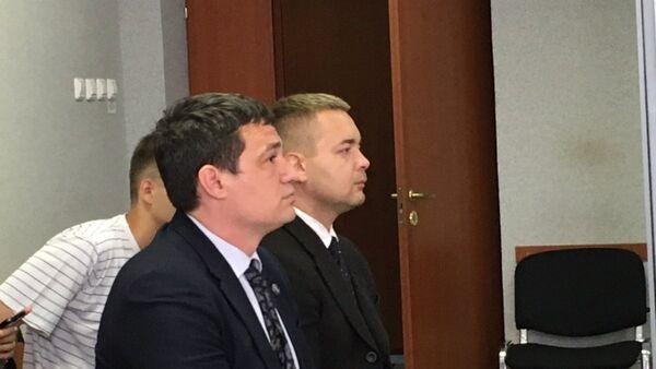 Обвиняемые в избиении DJ Smash экс-депутат заксобрания Пермского края Александр Телепнев и его друг Сергей Ванкевич в суде